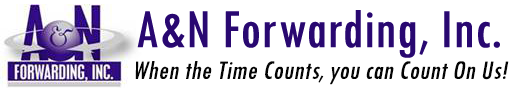 Logo - A&N Forwarding, Inc. - Freight Forwarding